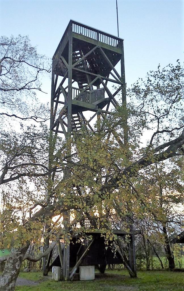 the tower on Venner Berg