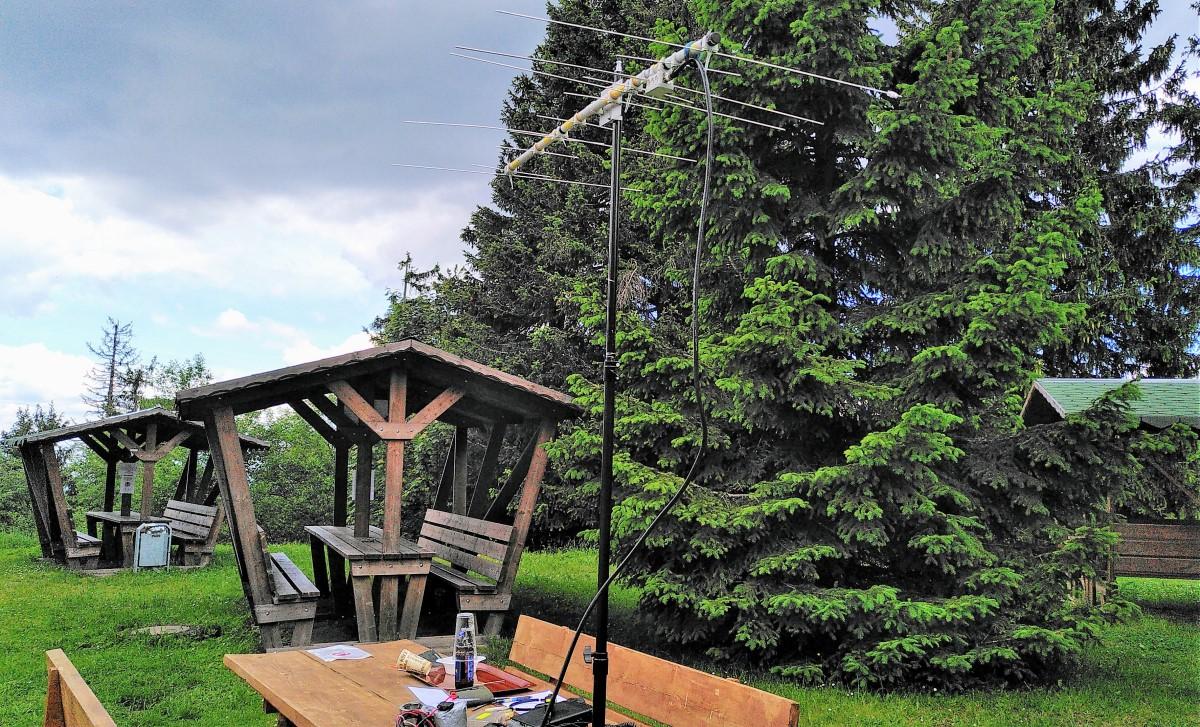 DM/SX-002, Antenne zu SM6VTZ